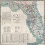 Sectional map of Florida