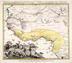 GUINEA PROPRIA, NEC NON, NIGRITIAE VEL TERRAE NIGRORUM  MAXIMA PARS GEOGRAPHIS HODIERNIS DICTA UTRAQ AETHIOPA INFERIOR