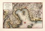 Plan de la baye et de la ville de St. Louis dans la partie du sud de l'isle de St. Domingue