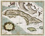 Carta esatta rappresentante l'Isola di Cuba estratta dalle carte del Sigr. Poppler