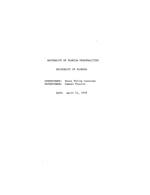 Interview with H. Phillip Constans, April 21, 1970