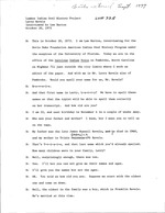 Interview with Larry Revels, October 20, 1972