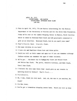 Interview with Rev. Ward Clark, April 30, 1973