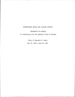 Diary of Reginald W. Quinn, May 20, 1965 -- June 16, 1967, Final Copy