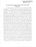 The Black Archives public forum at Joseph Caleb Center, August 7, 1997