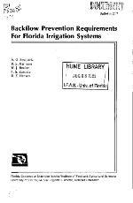 Backflow prevention requirements for Florida irrigation systems