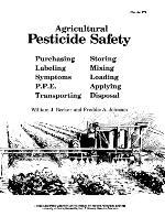 Agricultural pesticide safety