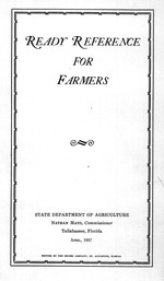 Ready reference for farmers