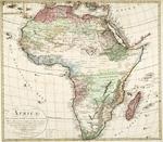 L'AFRICA nach Robert Vaugondy, Rennell's und Solzmann's Skizze des nord lichen Theils von Africa..