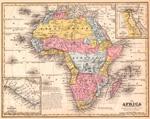 Africa (XL) on verso Oceanica (XLIII)