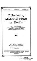 Collection of medicinal plants in Florida
