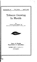 Tobacco growing in Florida