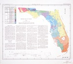 Geologic map of Florida
