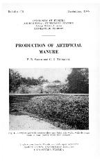 Production of artificial manure