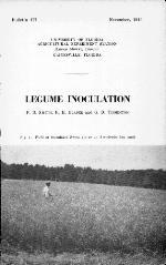 Legume inoculation