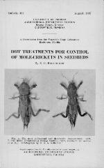 DDT treatment for control of mole-crickets in seedbeds