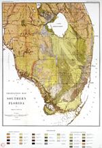 Vegetation map of Southern Florida