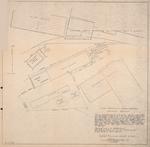 Plano Mostrando la Situacion de los Parcelas donde Estan Instaladas la Destileria Fabrica de Levadura