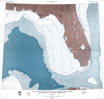 Map showing relation of land and submarine topography, De Soto Canyon to Great Bahama Bank