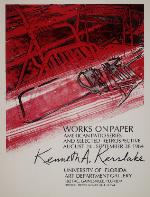 Poster for the American Patio Series, Works on Paper - Kenneth A. Kerslake.