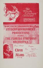 Florida Symphony Orchestra Poster