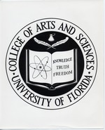College of Arts and Sciences seal at the University of Florida