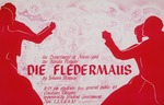 A flyer for a Florida Players production: Die Fledermaus