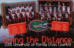 A poster schedule for the Cross Country teams: Going the Distance