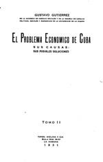 El problema economico de Cuba
