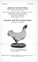 Culling for egg production