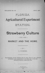 Strawberry culture for the market and the home /