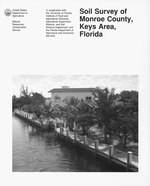 Soil survey of Monroe County, Keys Area, Florida