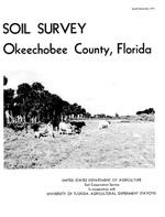 Soil survey, Okeechobee County, Florida