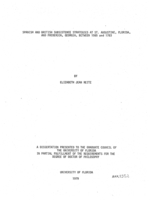 Spanish and British subsistence strategies at St. Augustine, Florida, and Frederica, Georgia, between 1565 and 1783