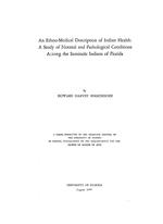 An ethno-medical description of Indian health