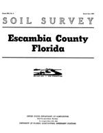 Soil survey, Escambia County, Florida