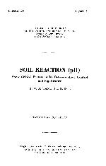 Soil reaction (pH)