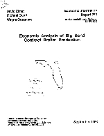 Economic analysis of Big Bend contract broiler production
