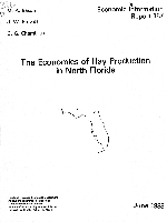 The Economics of hay production in North Florida