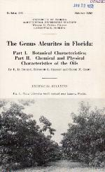 The genus aleurites in Florida