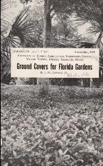 Ground covers for Florida gardens