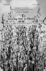 Growing oats in Florida