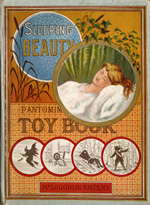 Sleeping beauty pantomime toy book