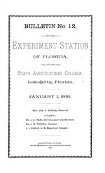 Agricultural experiments
