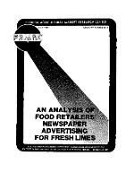 An analysis of food retailers' newspaper advertising for fresh limes
