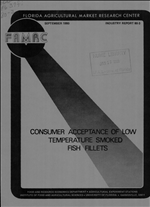 Consumer acceptance of low temperature smoked fish fillets