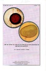The influence of vesicular arbuscular mycorrhizae on disease development
