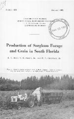 Production of sorghum forage and grain in South Florida