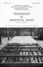 Propagation of ornamental plants