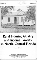 Rural housing quality and income poverty in north-central Florida